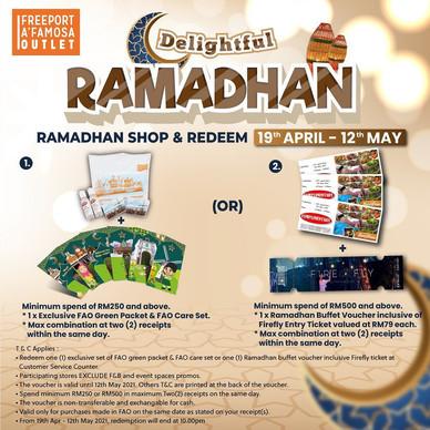 Ramadan SHop & Redeem