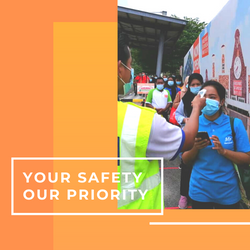 Your Safety, Our Priority