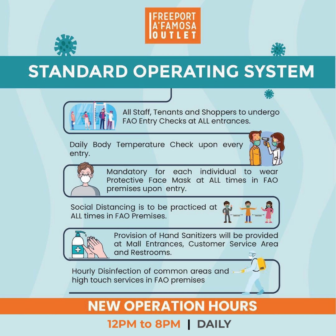 FAO's Standard Operating System to prevent Covid-19