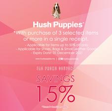 Hush Puppies Footwear & Accessories | Lot 69