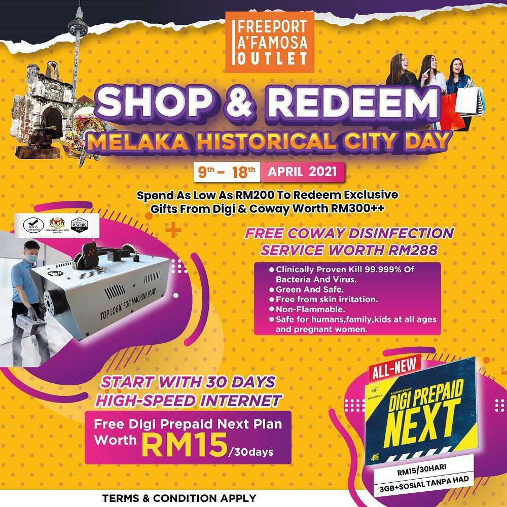 Shop & Redeem : Melaka Historical City Day