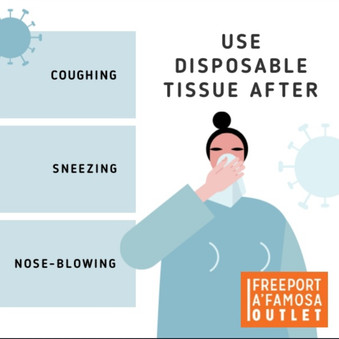 Use Disposable Tissue!!