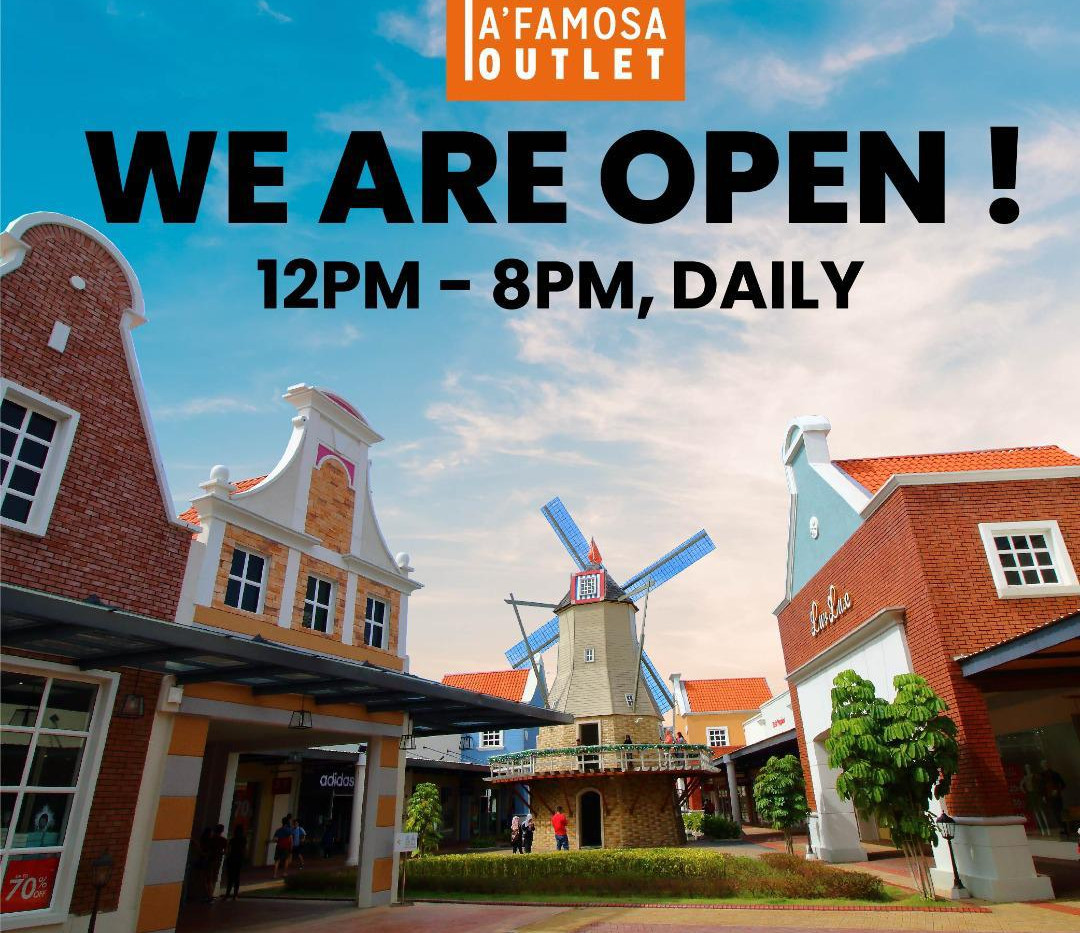 We are OPEN Daily
