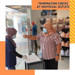 Temperature Check at Individual Outlet