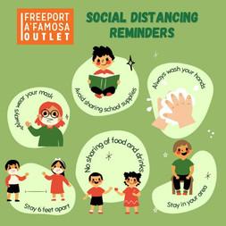 Social Distancing Reminders
