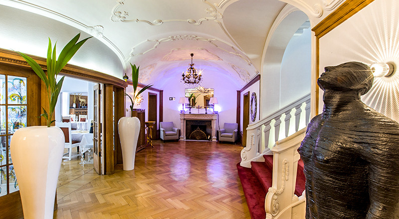Villa Vera Beletage Empfangssaal