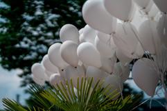 Deko Luftballons Garten Villa Bowdy