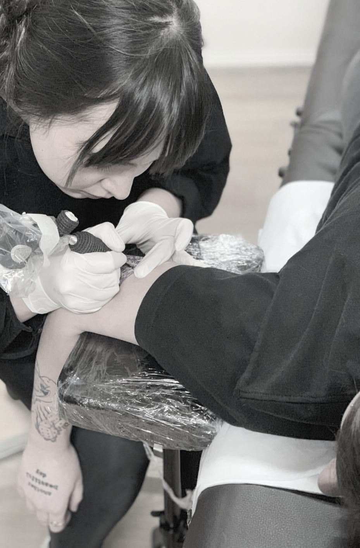 Tattoo Consultation, Artist: Yve