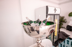 Hausmarke Jahrgangssekt Villa Bowdy Sekt Eventlokation