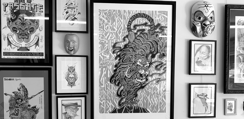 Tattoo Consultation, Artist: Christian