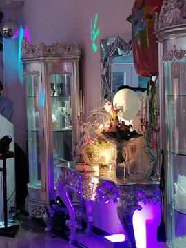 Geschenketisch Candybar Villa Bowdy