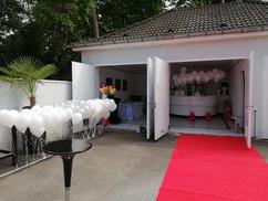Events und Attraktionen in der Villa Bowdy Hocheitslocation