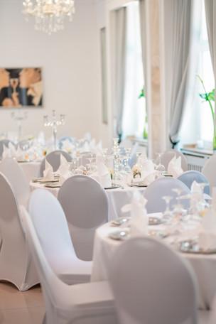 Eindeckung Saal Hochzeit Düren Jülich