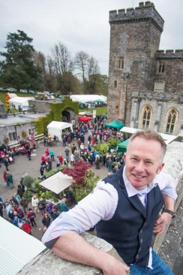 Toby Buckland's Garden Festival Powderham Devon