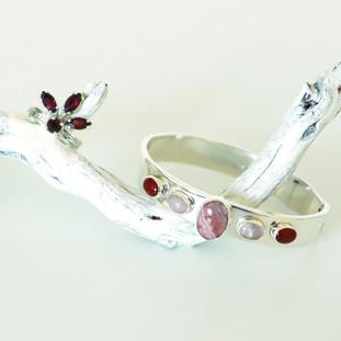 Bague Dalia et Bracelet Vania