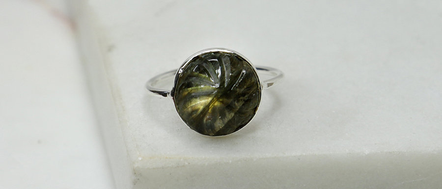 Bague Billy (Labradorite)