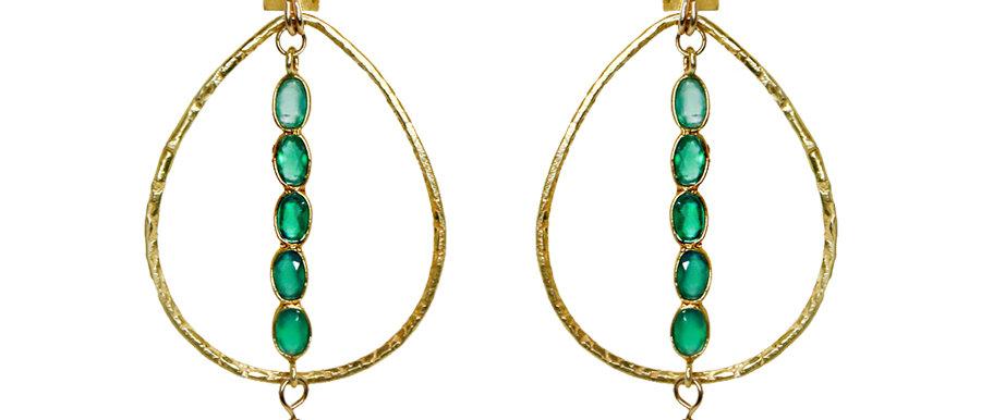 Boucles d'oreilles Chula (Agathe)