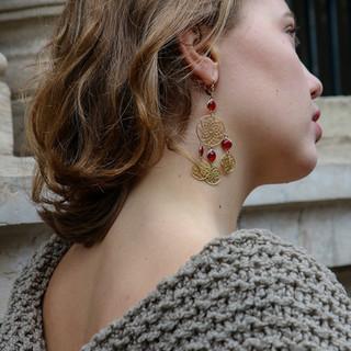 Boucles d'oreilles Maïa