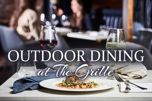 Outdoor Dining at The Sycamore Grille Begins Monday, June 15th