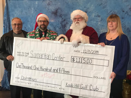 Knob Hill Golf Club Gives Back to the Community This Holiday Season...