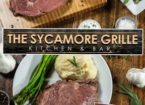 NEW MENU BEGINS on Wednesday, July 8th at The Sycamore Grille at Knob Hill!