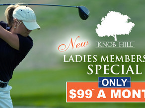 NEW Ladies Membership Special at Knob Hill Golf Club