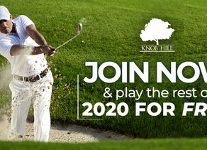 JOIN NOW and Play for the rest of the 2020 Golf Season For FREE! ⛳️