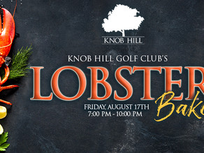 Knob Hill Golf Club's Annual Lobster Bake