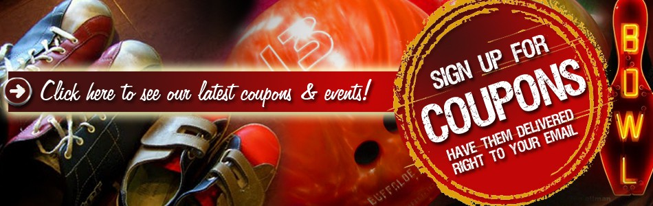 Knob Hill Country Lanes' Coupons