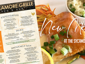 Check Out The NEW Menu Items at The Sycamore Grille at Knob Hill...