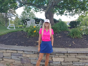 Knob Hill's 2020 Ladies Net Match Play Champion - Lyne Tremblay
