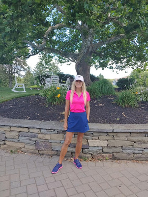 Knob Hill's 2020 Ladies Net Match Play Champion - Lyne Tremblay