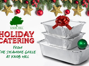 Let Us Do The Holiday Cooking For You This Season!