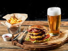 Every Thursday Night is Burger Night at The Fox Club Grille!  1/2 Price Burgers!