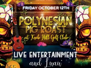 Polynesian Pig Roast at Knob Hill Golf Club