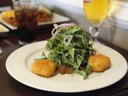 Arugula Salad with Fried Goat Cheese.jpg