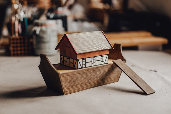 Noah's Ark, small (size 4)