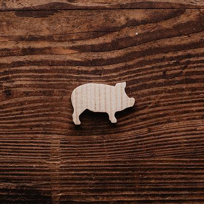Nr. 22, Schwein Spaltreifen