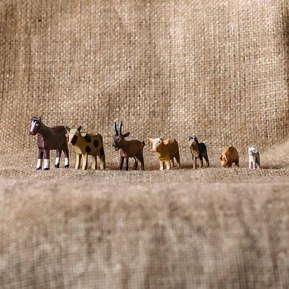 Bauernhoftiere 1 - Größe 4