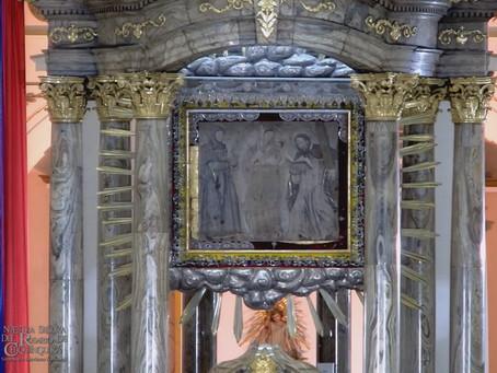 Recuperadas joyas de lienzo de la Virgen de Chiquinquirá que habían sido robadas en la madrugada