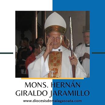 Monseñor Hernán Giraldo Jaramillo