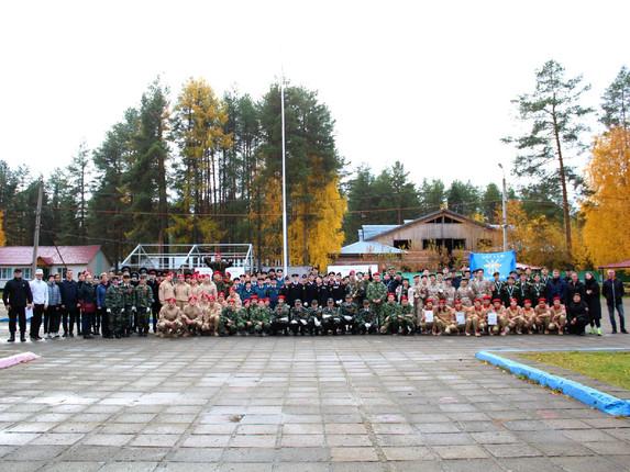 Состоялась военно - спортивная игра «Орлёнок 2021»