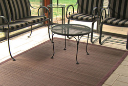 AMB0012 Bamboo Rugs Villager-Coffee