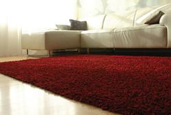 AMB0652 Silky Shag Crimson