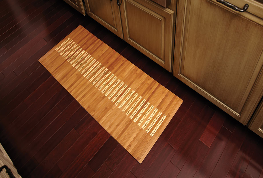 AMB0090-2048 Bamboo Kitchen&Bath Mat