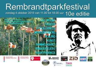 SOMAnatomics go to RembrandtPark Festival 10e editie