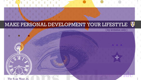 Make Personal Development Your Lifestyle