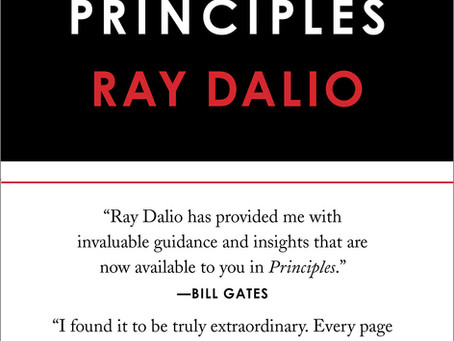 Principles by Ray Dalio - Summary and Application