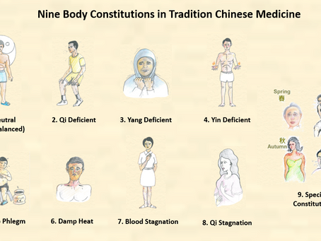 TCM: Nine Body Constitutions