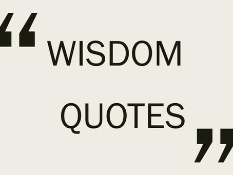 Wisdom Quote #4: Illness and Wellness